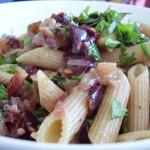 Italian Eggplant Penne Salad