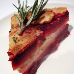 Goat Cheese Roasted Beet Torte