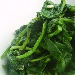 Balsamic Wilted Spinach