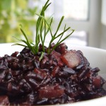 Creamy Truffled Black Rice