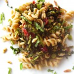 Fusilli with Broccoli Raab and Cherries