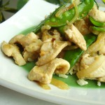 Garlic Chicken and Snow Pea Stir-Fry