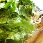 Grilled Caesar Salad Pizza