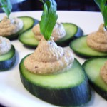 Jalapeno-Peanut Hummus with Fresh Herbs