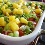 Layered Baja Bean Dip