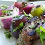 Lebanese Lamb and Fig Kebabs