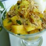 Mango Mint Parfait