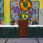 Jackie on panel with Kate Geagan, Sophie Uliano, and A.J. Ali at Go Green Expo LA