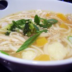 Pan-Asian Chicken Udon Soup