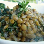 Pinot Noir Lentils and Kale