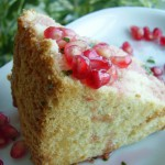 Pomegranate Angelic Cake