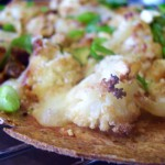 Roasted Cauliflower Pizza