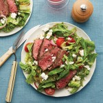 Romaine Peppercorn Steak Salad