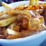 Spicy Skinny Fries