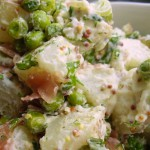 Sweet Pea and Prosciutto Potato Salad