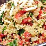Valencia Orange Bulgur Salad with Almonds