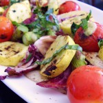 Warm Grilled Vegetable Salad