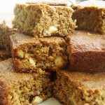 Macadamia Nut Blondie Bars