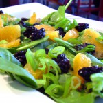 Bog (Black-N-Green-N-Orange) Salad