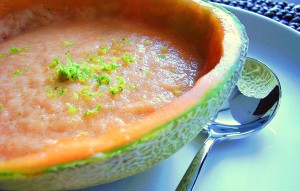 Cool Cantaloupe Soup