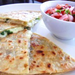 Farmers' Market Quesadilla