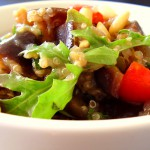 Veggie Studded Sticky Quinoa