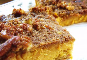 "rustic sweet potato ""flan"""