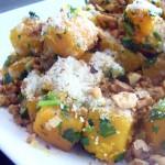 Buttercup Squash Parmesan