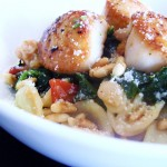 Scallop Orecchiette with Broccoli Raab