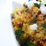 Spanish Goat Cheese Couscous
