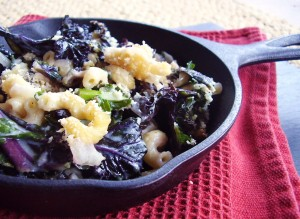 kale mac and cheese
