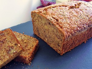 banana hemp seed bread