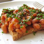 british style beans on toast (photo: Jackie Newgent)