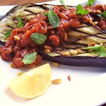 grilled eggplant steak (photo: Jackie Newgent)