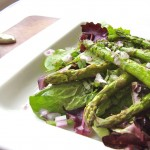 grilled spring asparagus salad (photo: Jackie Newgent)