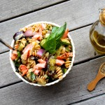 italian rotini and grilled vegetable salad (photo: Stephanie Smith)