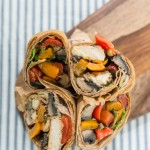 roasted vegetable wrap (photo: American Diabetes Association)