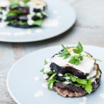 tahini roasted eggplant (photo: American Diabetes Association)