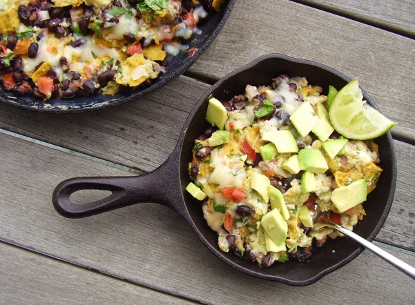 simple mexican breakfast scramble
