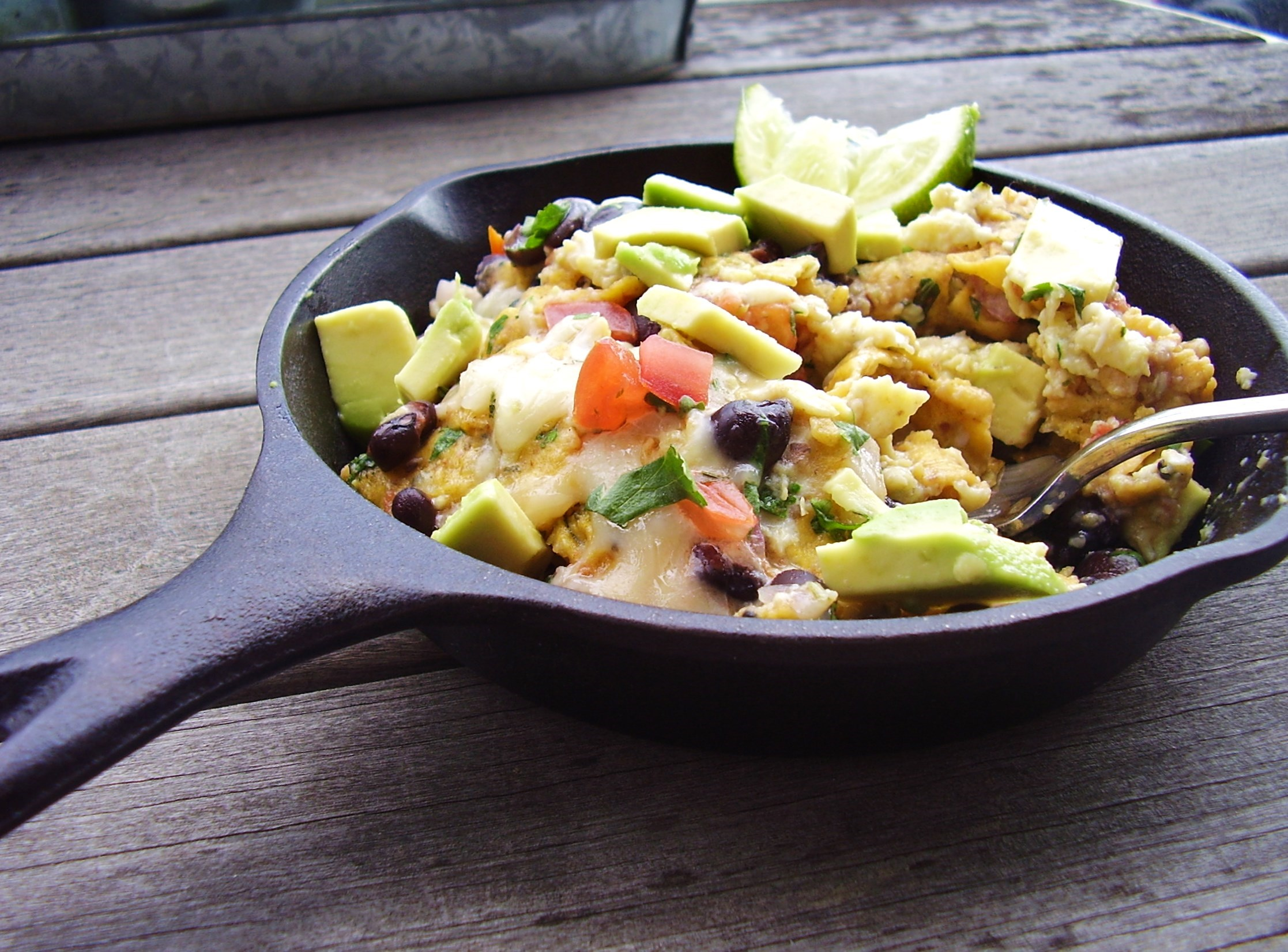 meatless monday: mexican breakfast scramble