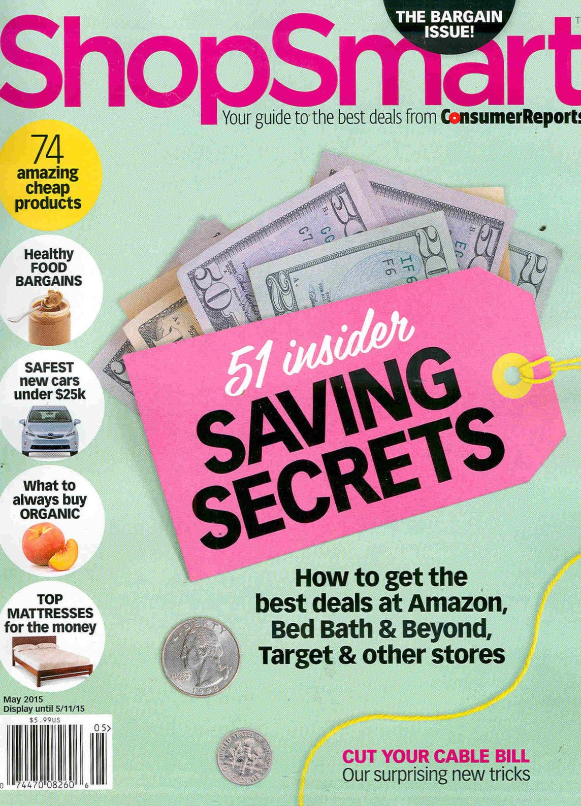 Consumer Reports ShopSmart_May 2015
