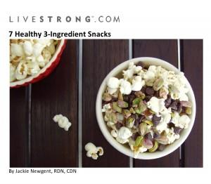 7 Healthy 3-Ingredient Snacks