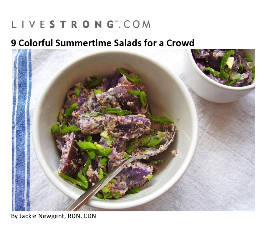 9 Colorful Summertime Salads for a Crowd