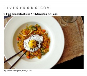 9 Egg Breakfasts in 10 Minutes or Less