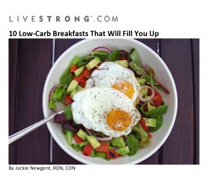 10 Low-Carb Breakfasts that Will Fill You up