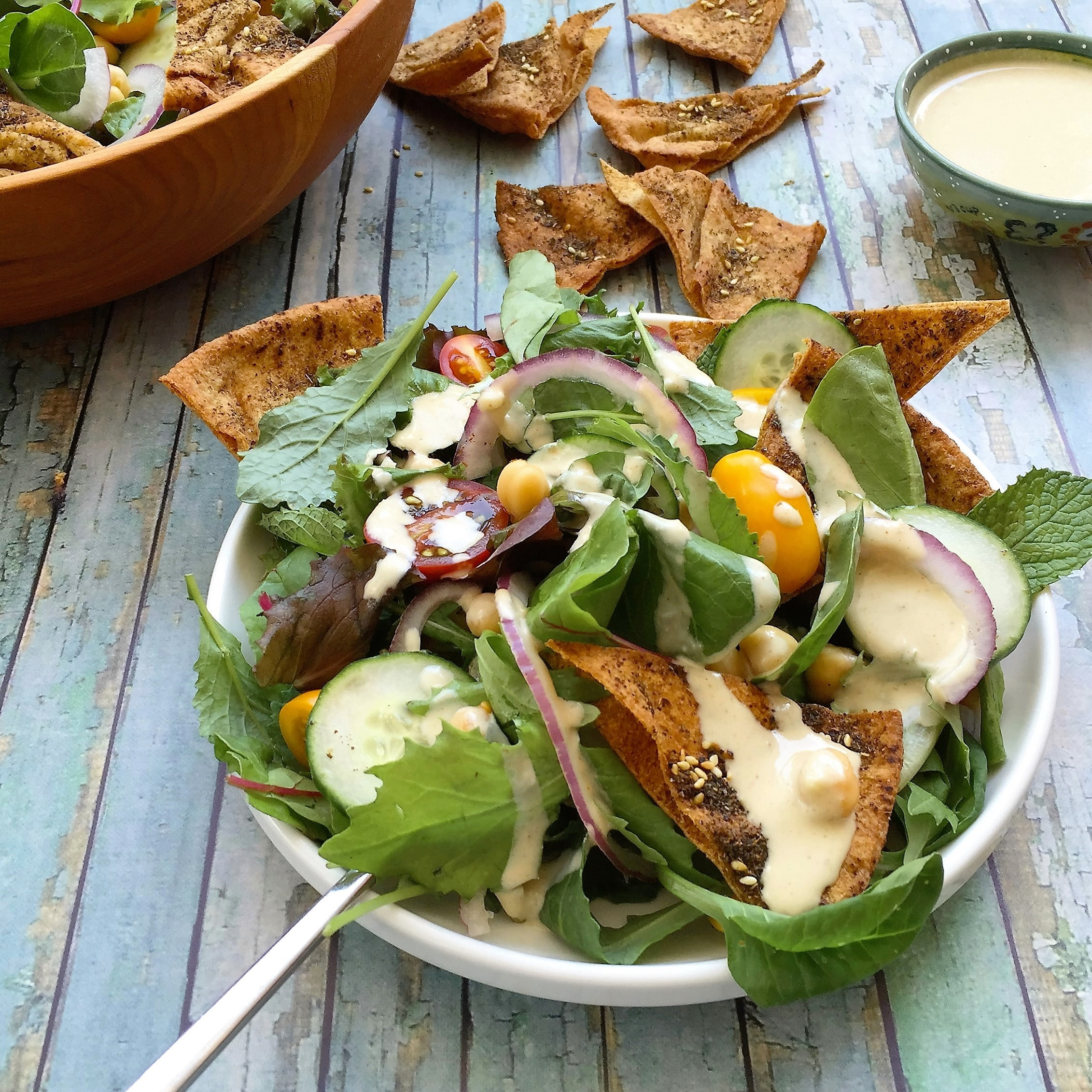 Lebanese Salad with Lemony Tahini Dressing_main