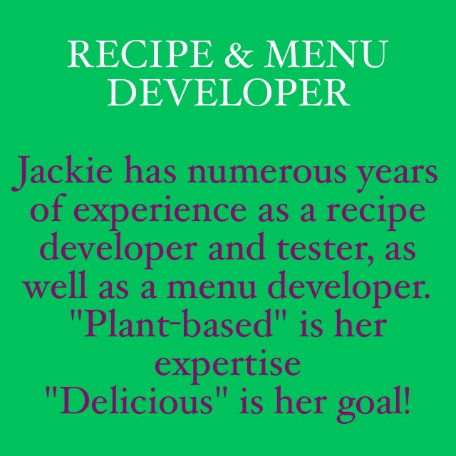 Recipe & Menu Developer Image Quote