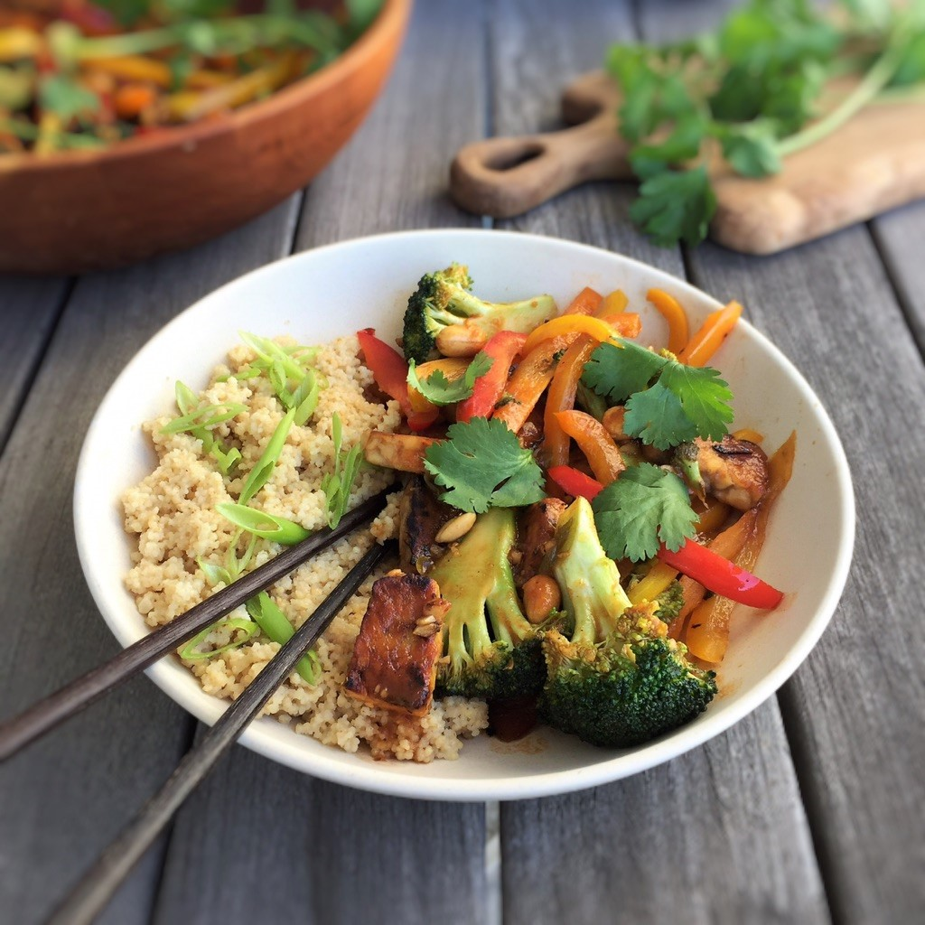 Seasonal Indonesian-Inspired Tempeh Stir-Fry