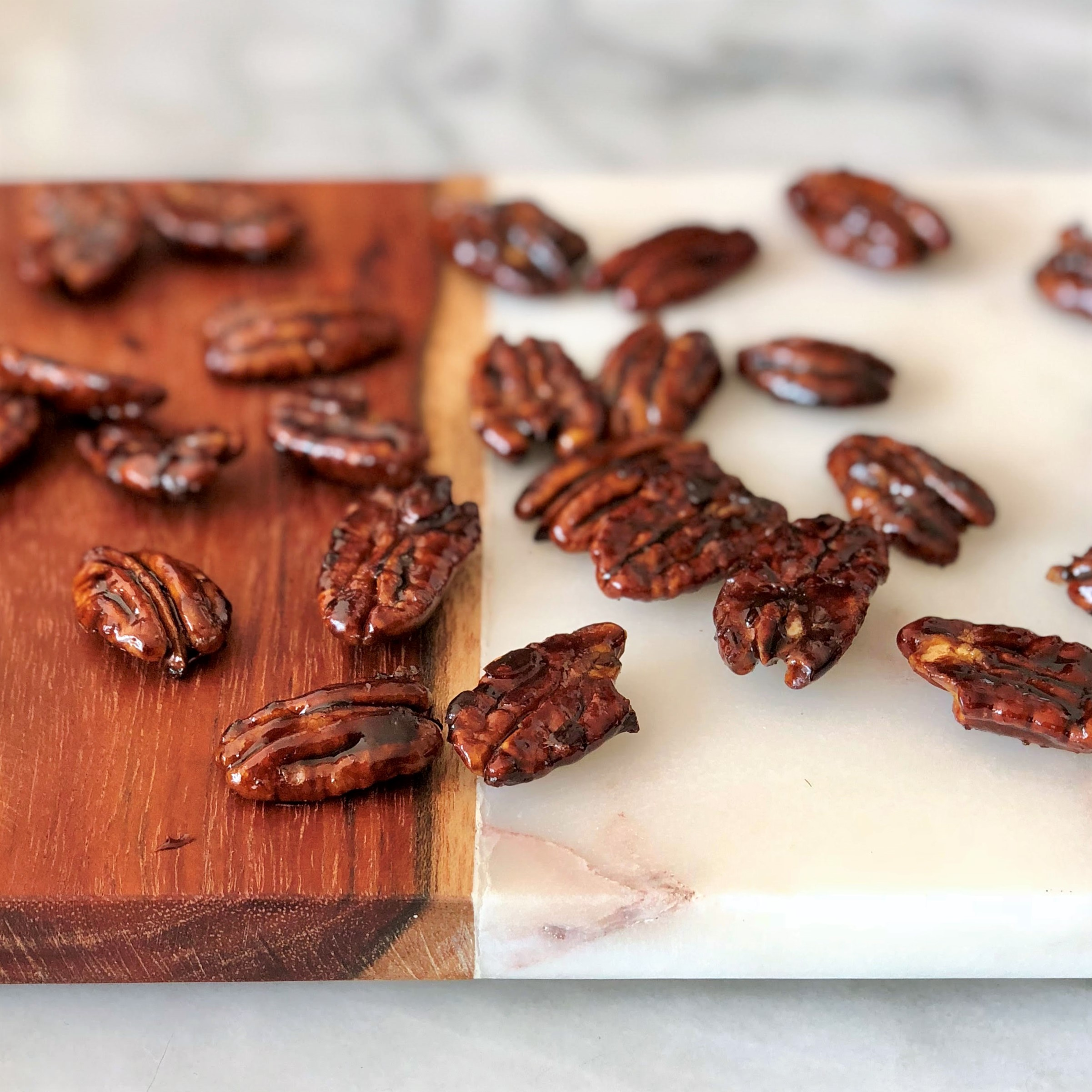 candied pumpkin pie spice pecans
