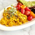Plant-Based Chickpea Eggs